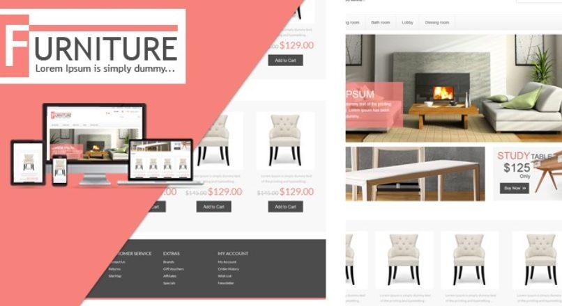 Opencart — Furniture Premium — Магазин мебели