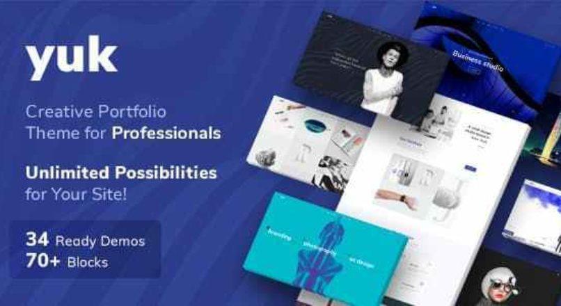 Portfolio/Agency YUK — Portfolio WordPress Portfolio