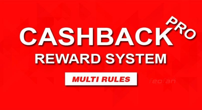 Cashback Pro — Marketing (Customer Reward) System — Вознаграждение клиентов