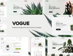 Vogue — Plant Store Opencart Theme