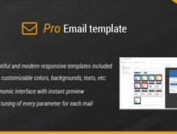 Pro Email Template 1.8.7 — Красивые письма клиентам