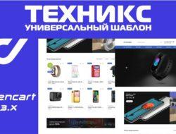 Техникс — универсальный шаблон 1.1.1 Стоит ли покупать? Обзор VIP