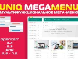 "UniQ MegaMenu — мультифункциональное мега-меню 1.0 <strong><span style=""color: #0000ff;"">Key</span></strong>"