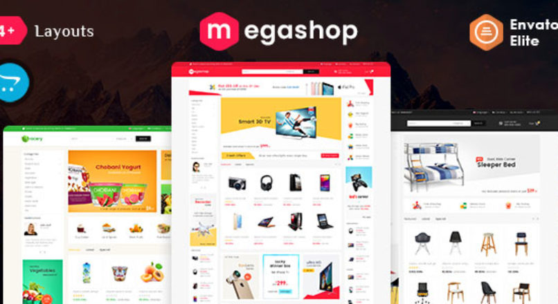 Mega Shop — Opencart 3 Multi-Purpose Responsive Theme