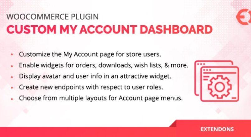 WooCommerce User Dashboard — Custom My Account Page