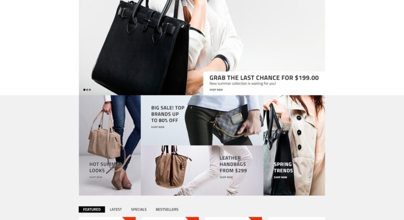 Big Bag — Handbag Store OpenCart Template