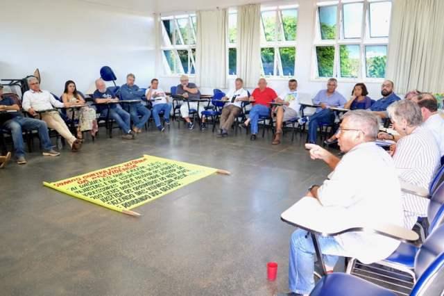 Integrantes do terceiro encontro regional movimento fe e politica