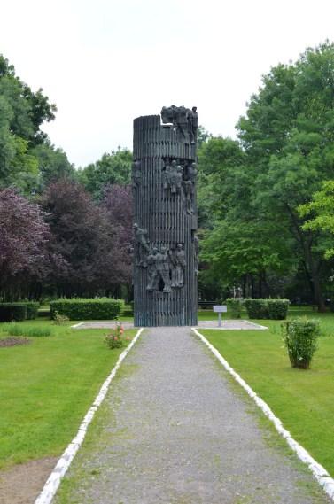 Kiseleff Park, Monument of Romanian Infantry