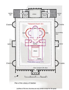 Planul construcției, sursa: Ancient History Encyclopedia