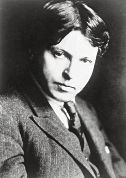 George Enescu, reproduction of an old photo. Source: isabellelorelai.wordpress.com