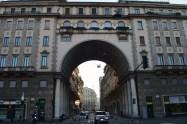 Cladire pe Corso Venezia