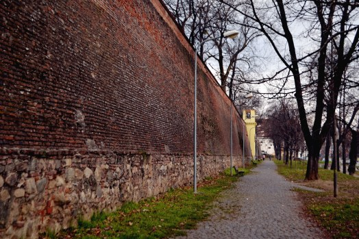 The city's wall