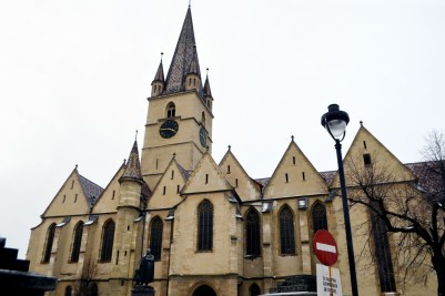 The Lutheran Cathedral from Huet Square