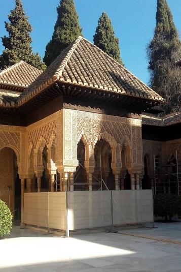Clădire din complexul Alhambra