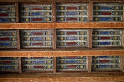 Casa de Pilatos (Sevilla) - tavan ornamental din lemn