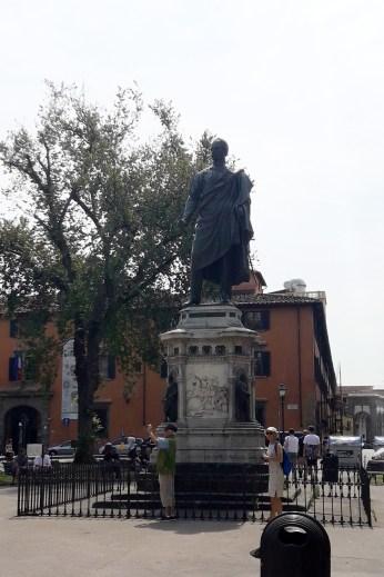Museo Nazionale di San Marco, statuia generalului Manfredo Fanti
