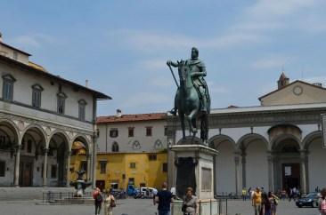 Statuia ecvestră a lui Ferdinando I de' Medici