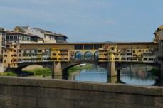 Ponte Vecchio văzut de pe Corridoio Vasariano