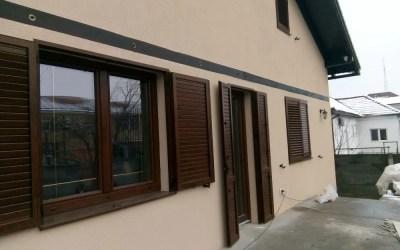 Montaj obloane de aluminiu in Sibiu, casa Saceleanu