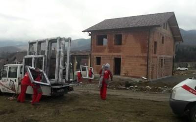 Montaj tamplarie PVC Salamander bluEvolution 92 in Sadu, judetul Sibiu
