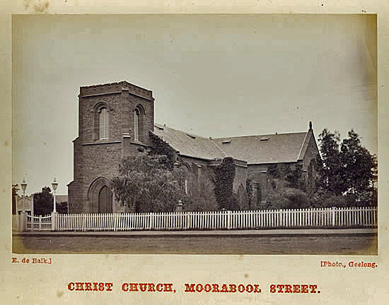 03-12-1869: Christ Church, Moorabool St, Geelong, Victoria. (6/6)
