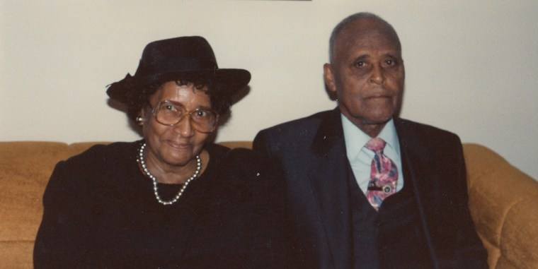 Dad was not present at Mom's 95th Birthday.  He passed away 17 years earlier.