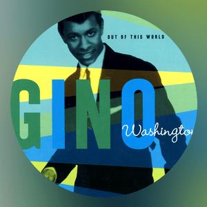 This picture reveals Young Gino Washington seeking rock star status.