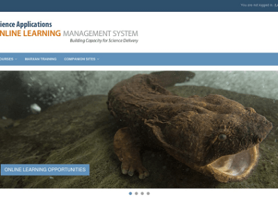 8. Online Learning Management for Training, Information and Science Delivery Understanding