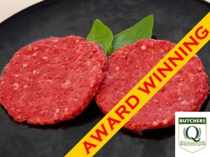 extra lean award winning beef burger