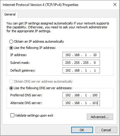 Windows 10 Client Bilgisayarın Domaine Dahil Edilmesi