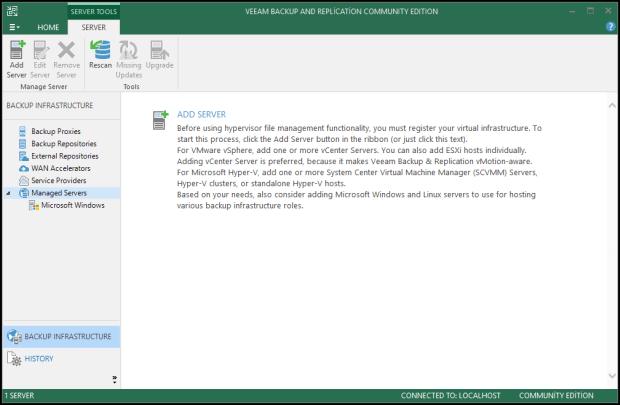 Veeam Backup & Replication v9.5 Kurulumu