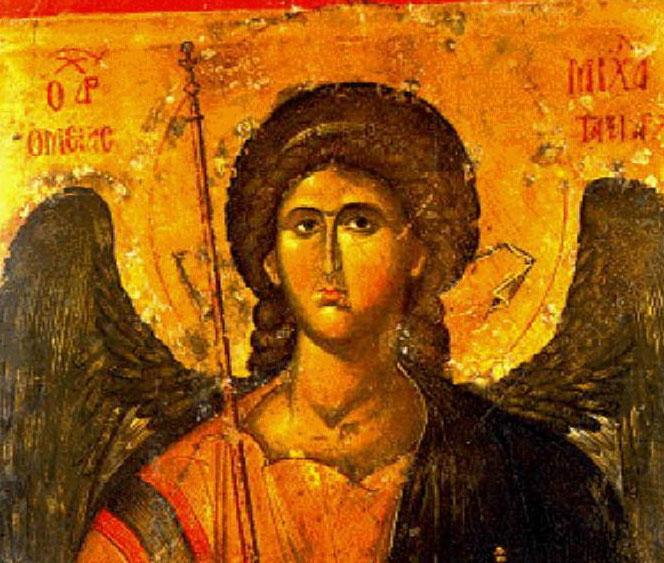 qu papel tiene el arcngel miguel en los conos ortodoxos