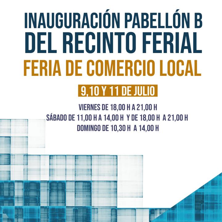La Feria de Comercio estrena el pabellón B de Calatayud