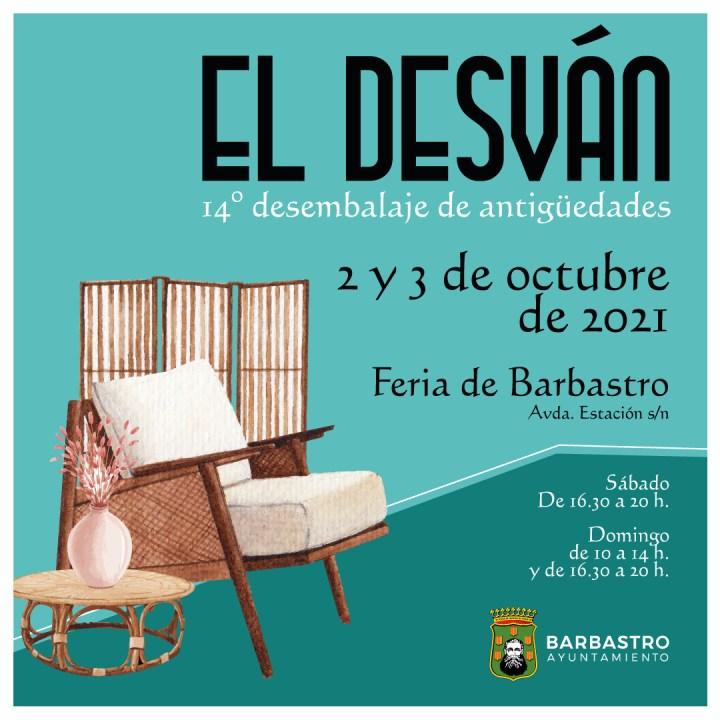 Barbastro celebra El Desván los días 2 y 3 de octubre