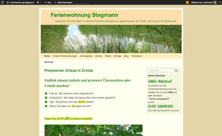 Ferienwohnung Stegmann Crinitz