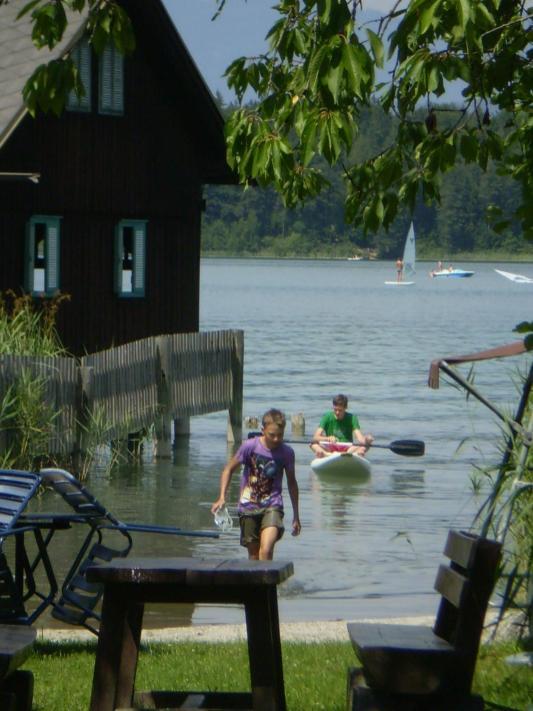 Der hauseigene Seezugang nur für Gäste