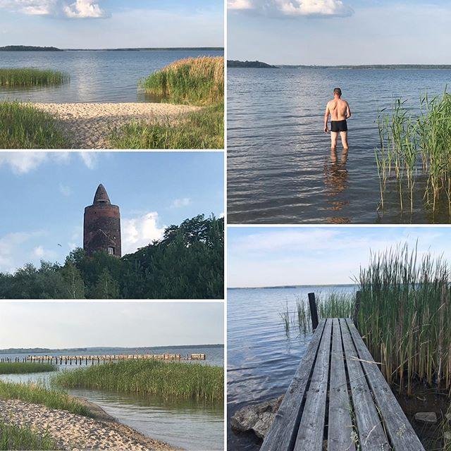 Die ideale Erfrischung an heißen Sommertagen 🏼♂️️ #goitzsche #goitzschesee #strandpouch #badenpouch #schwimmen #goitzschepouch #sommer #summer #sommerurlaub #sandstrand