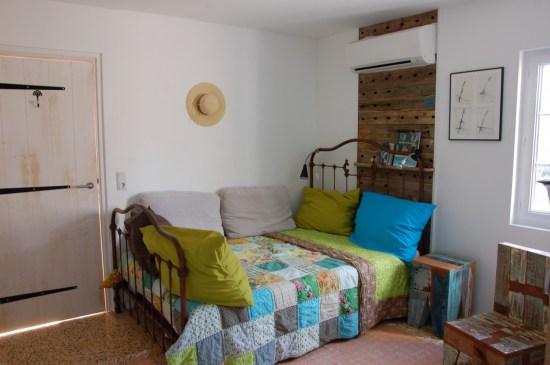 Schlafzimmer 1, mit TV