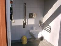Behindertengerechtes WC WC