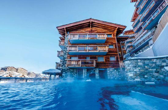 Hôtel Nendaz 4 Vallées & Spa, Haute-Nendaz, Wallis, Schweiz © Nuno Acacio