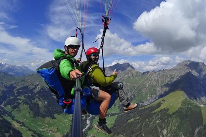 Paragliden Adelboden