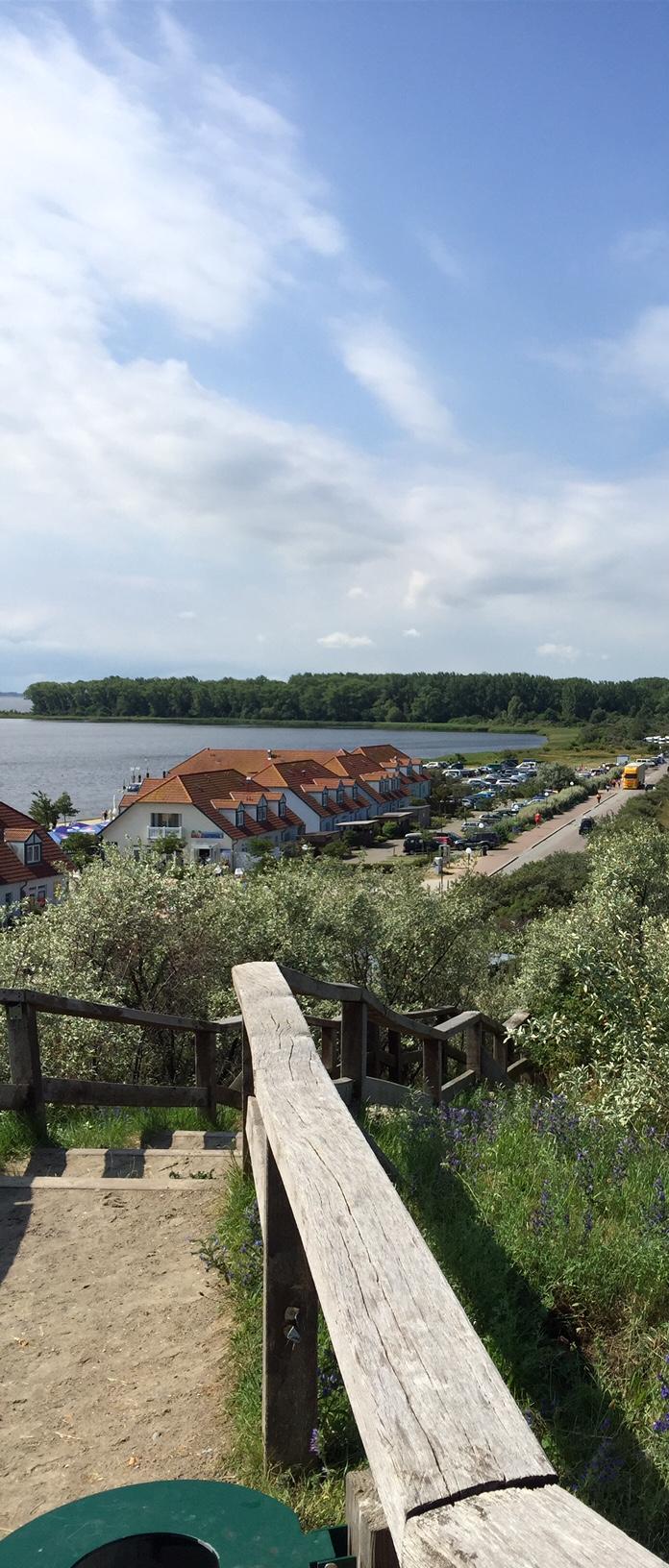 Blick auf das Ostseebad Rerik