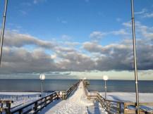 Die Seebrücke in Rerik im Winter