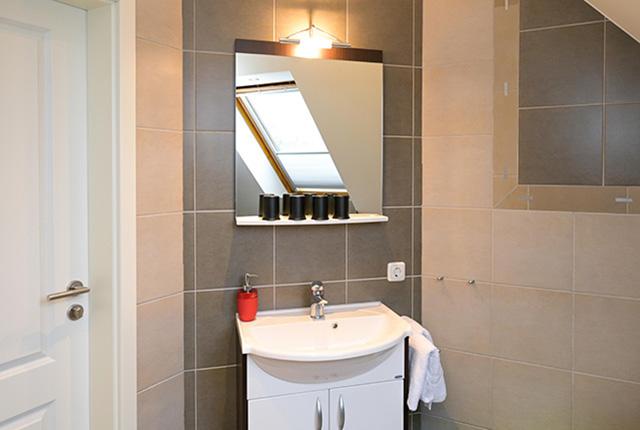 Ferienwohnung Fehmarn modernes Badezimmer