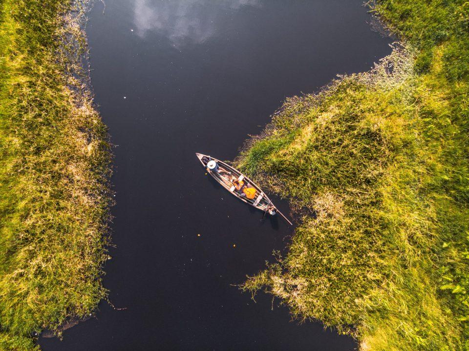 Aerial Views of Epe Mangrove Views at the Epe Mangrove