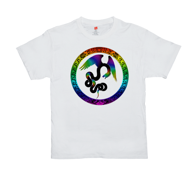 Aztec Dreams T-shirt - white