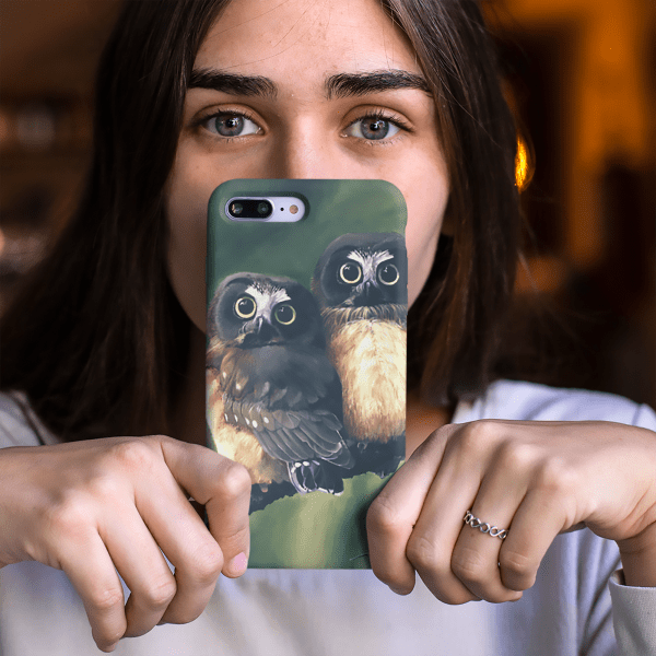 Baby Owls Phone Case