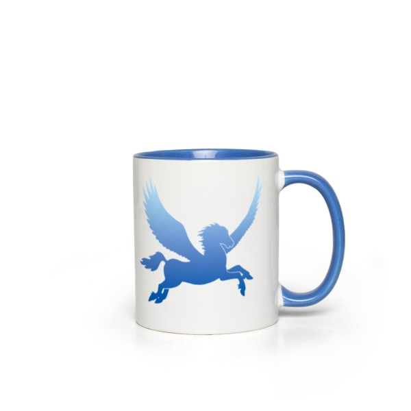 Coming Storm Pegasus Accent Mug