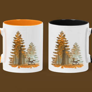 Mystic Hunter Centaur accent mugs