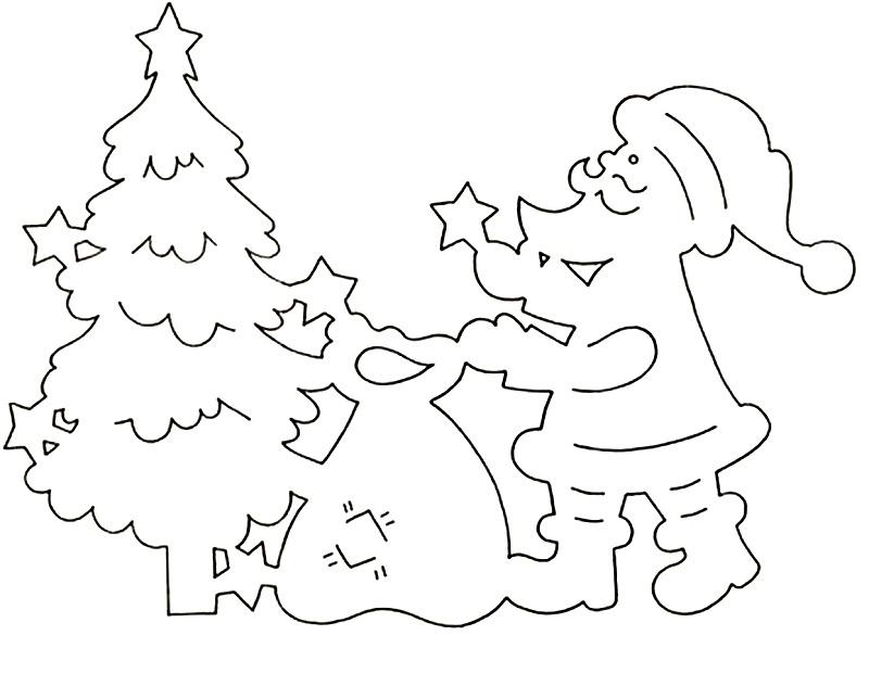 разбуривается картинка для нового года вырезать помещение, которое